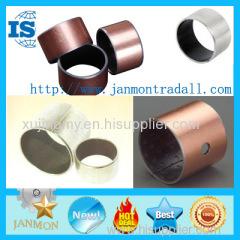 DU Bushing Metric Or Inch Bronze Based Bearing Carbon Steel Stainless Steel Bushing With PTFE Teflon Bush Sleeve DU bush
