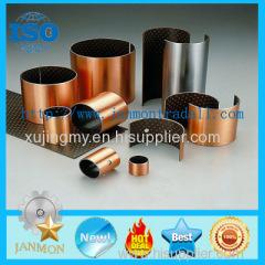 Du Bushing For Auto Parts Carbon Steel+Bronze Powder+PTFE Teflon+Polymer Bush Self-lubricated PAP PAF P10 P20 SF1 SF-1
