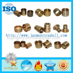 Customized copper sliding bush Customized copper slding bearing Customized copper sliding bushes Bimetal bushes