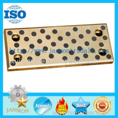 Solid Bronze bushings and plates Sliding Plate Solid Lubricating Bushings Solid Sliding Oilles Bush Solid Lubricating