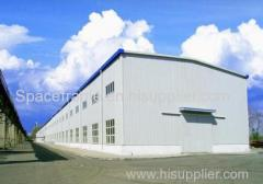 Light steel structure used high quality two story warehouse