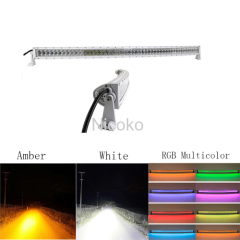 Amber White Led light bar 52
