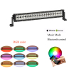 Double Row Straight off road LED light bar led light bar with RGB Bluetooth control for car & trucks