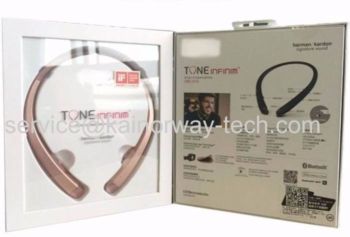 New Lg Mobile Hbs 910 Tone Infinim Bluetooth In Ear Behind The Neck Headphones From China Manufacturer Hk Rui Qi Development Co Limited