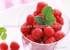 Natural organic raspberry fruit powder