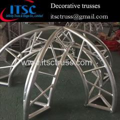 Professional decoration lighting truss design