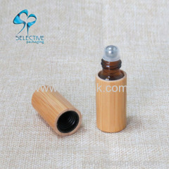 perfume glass bottle roll on bottle
