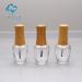 bamboo cap bottle 15ml glass bottle