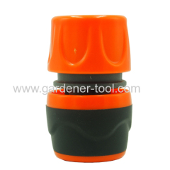 Plastic soft unvisersal water hose quick connector