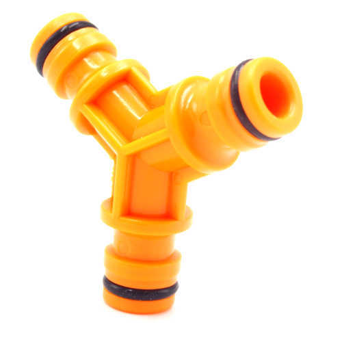 Plastic 3-way Y Hose Fitting