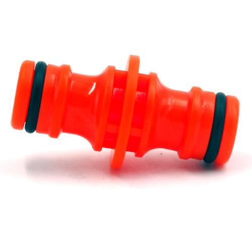 plastic 2 way garden hose coupling