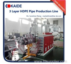 20-110mm PE pipe extruder machine cheap price high speed 50m/min