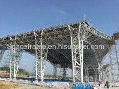 High quality steel truss structure airport terminal steel structure
