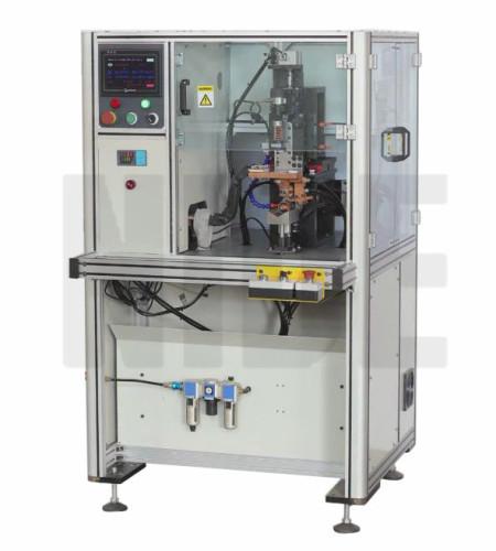 Automatic rotor commutator hook welding machine