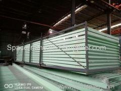 Grande espaço estrutura de espaço de aço carvão seco carcaça edifício estrutura de grade