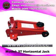 manual hydraulic cylinder 3 ton hydraulic trolley floor jack heavy jack