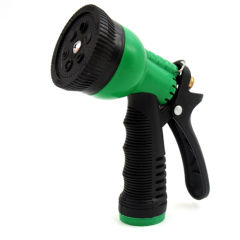 Plastic 6-pattern garden spray nozzle