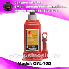 10ton hydraulic bottle jack with safety value for car using
