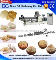 Automatic 2d&3d snack pellets papad fryum making machine processing equipment