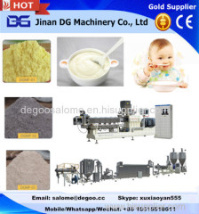 Automatic instant baby food powder manufacturing machinery production line