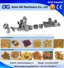 Automatic fried wheat flour based sala chips/bugle/corn cone making machine production plant