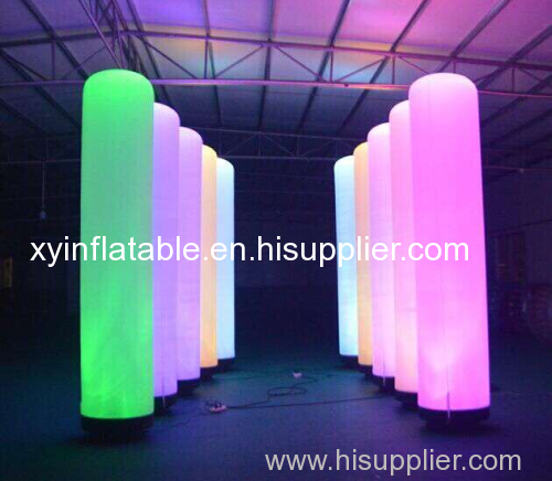 Factory Outlet LED Inflatable Pillar For Event