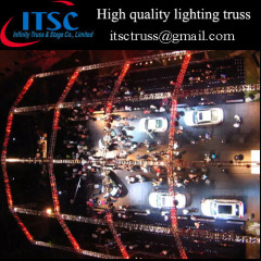 Chinese high quality lighting truss and stage