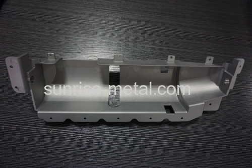 powder coating aluminium die casting part
