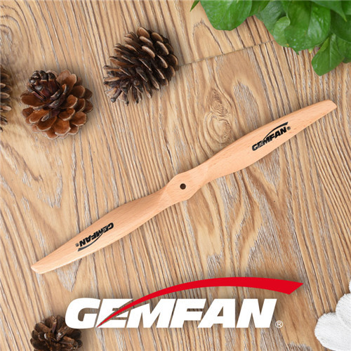 11x5 inch Flying Remote Control Electric Airplane Wood Props