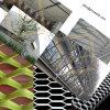 aluminum expanded metal facade mesh curtain wall mesh