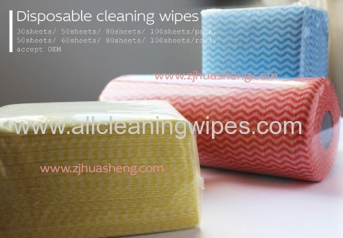 Nonwoven Wipes in Roll Ideal for floor and kitchen