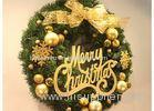 Merry Christmas Festival Decoration Items Outdoor Christmas Garland With Lights