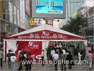 Outside Fabric Tent Structures 80KM / H Wind Load For Promotional Activities