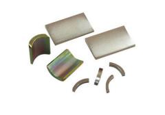 Permanent Neodymium Customized Magnets Arc BLDC Motor