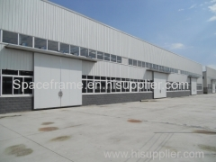 High quality light prefab workshop light steel structure building