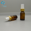 10ml amber olive oil mist spray glass bottle