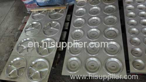 food container vacuum forming machine moulds