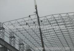 struttura reticolare in acciaio struttura a griglia del tetto di alta qualità