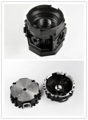 Powder coating auto motor cover/ die casting for auto devices / vehicles parts
