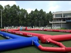 ホット販売20 * 10メートルのインフレータブルサッカーフィールド
