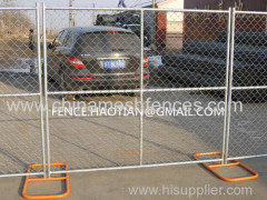 6ft x 12ft construction site temporary chain link fence america hot dip galvanized wire fencing