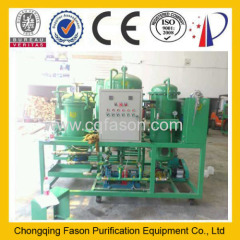 Used Mixed oil recycling machine used fuel oil purification plant