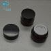 empty 3g mini small size amber glass cosmetic packaging eye cream empty jar