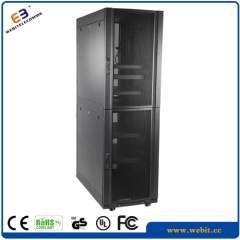 Multi-section series heavy duty server rack