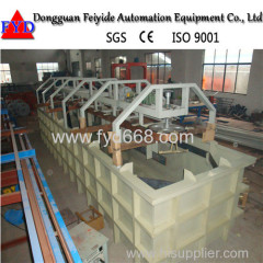 Feiyide Single Rack Plating Produation Line Machine
