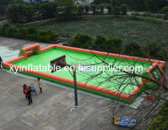 High Quality Inflatable Soap Soccer Field