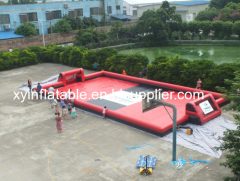 Hot Selling Inflatable Soap Football Field