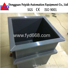 Feiyide Plating Machine PVC Tank with High Quality for Chrome Plating