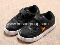 Kids velcro and lace up sports shoes