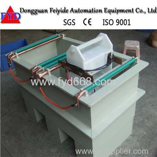Feiyide Duplex Manual Barrel Plating Machine for Copper Zinc Gold Plating